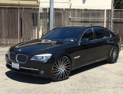 BMW on Lexani wheels